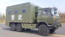 东风六驱越野餐厨车的性能和用途简介