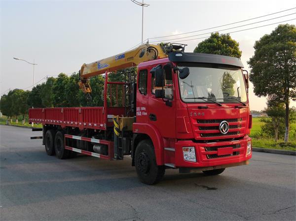 东风牌DFZ5258JSQSZ6D1型随车起重运输车