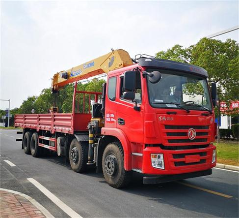 东风牌DFZ5310JSQSZ6D型随车起重运输车