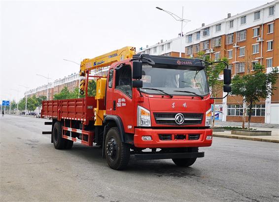东风牌DFZ5140JSQSZ6D型随车起重运输车
