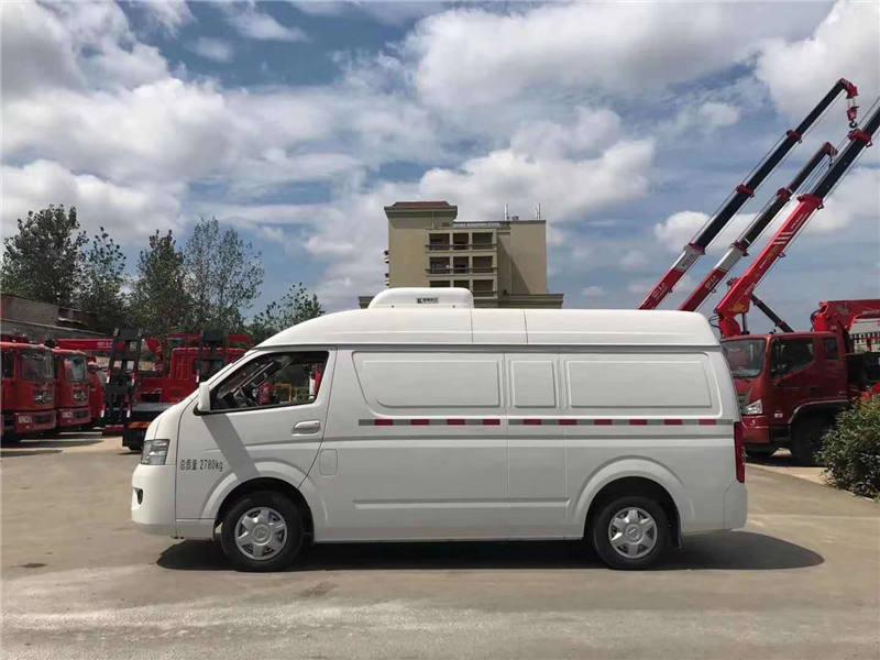 福田G7国六面包冷藏车